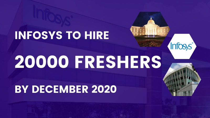 Infosys is going to hire 20000 Freshers by Dec 2020