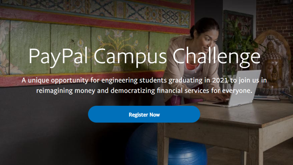 PayPal is hiring 2021 Batch Engineering Graduates in India